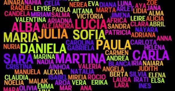nombre de niñas