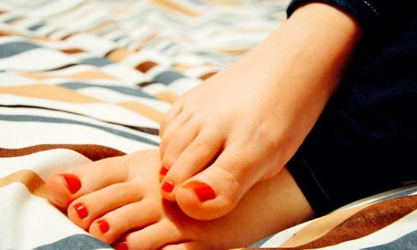 pies crecen durante el embarazo