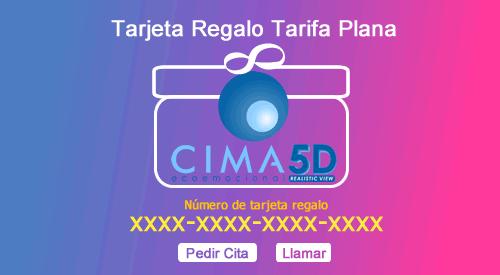 Tarjeta Regalo Tarifa Plana